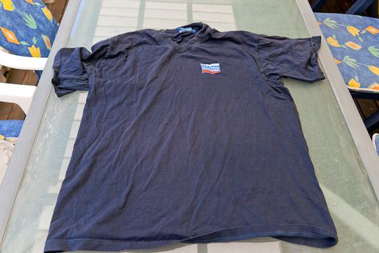 Snygg V-ringad T-shirt