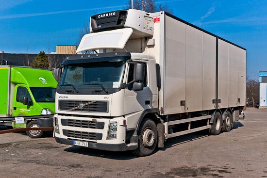 Nuvarande bilen - en Volvo FM9 380