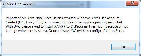 UAC-varning för Vista och Windows 7