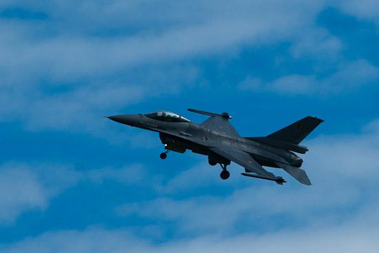F-16 Fighting Falcon för flyguppvisningar
