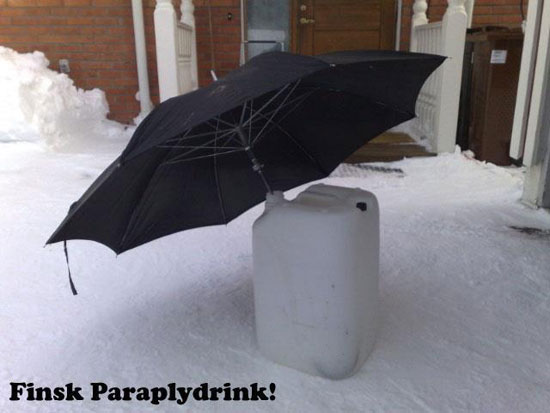 Finsk paraplydrink