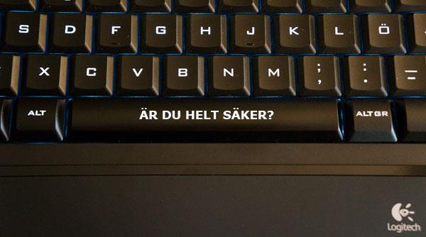 Nytt tangentbord minskar risken för särskrivningar
