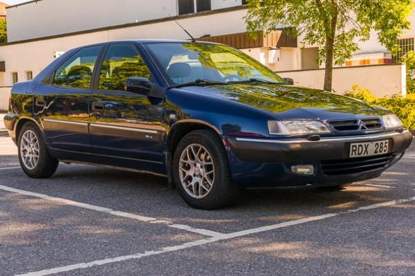 Nya vardagsbilen - en Citroën Xantia 1.8i 16V -99