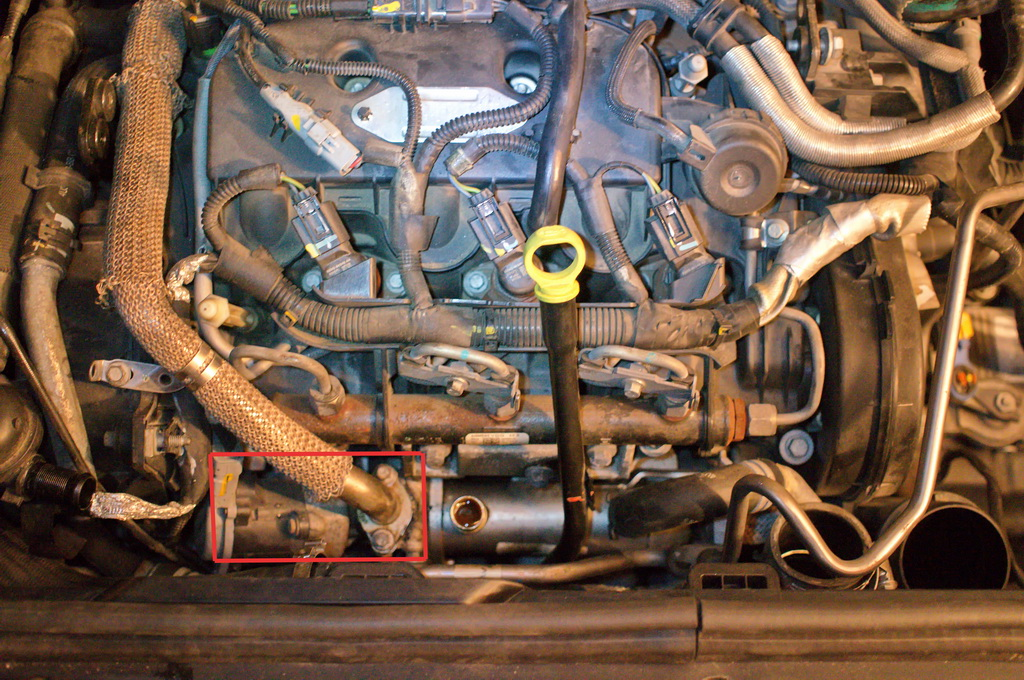 Byta EGR-ventil på en Citroën C6 2.7 HDi